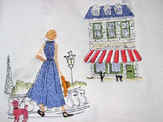 an american in paris machine embroidery design