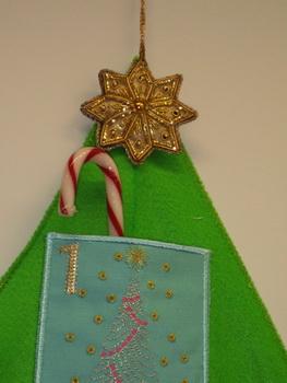felt christmas tree instructions