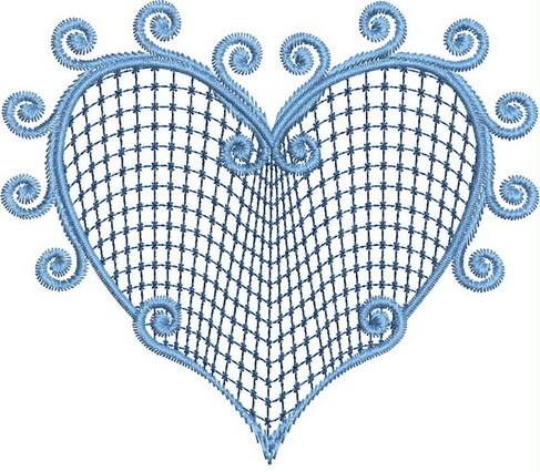Blue Crush Machine Embroidery Designs
