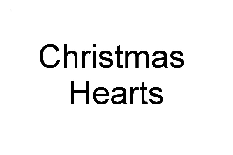 Christmas 2016 Machine Embroidery Designs. Christmas hearts with Noel and Joy.