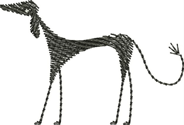 Dogs Machine Embroidery Design