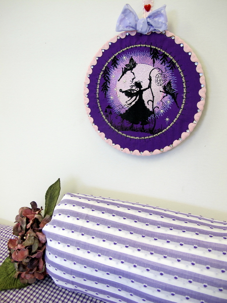 Dream Moon Fairies Machine Embroidery Designs