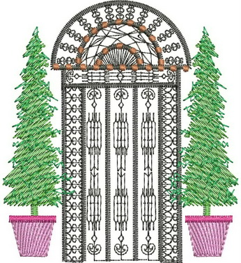 Four Seasons - Summer Machine Embroidery Designs