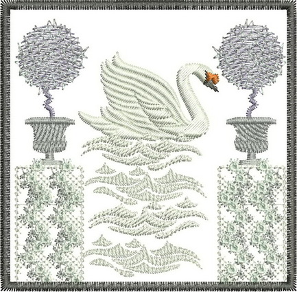 Four Seasons - Winter Machine Embroidery Designs
