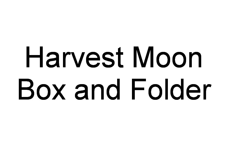 Harvest Moon Machine Embroidery Designs
