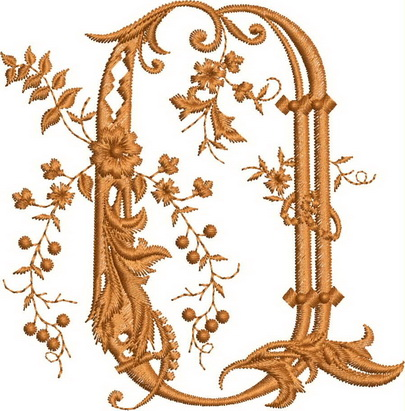 Monograms Machine Embroidery Designs