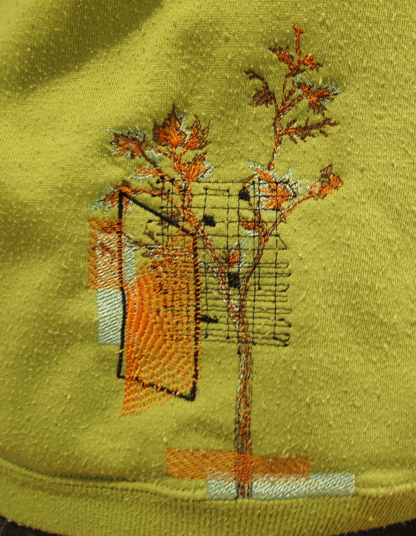Organic Shapes Machine Embroidery Designs