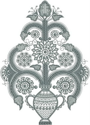 Pastel Machine Embroidery Designs