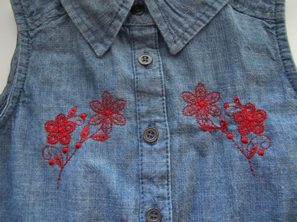 Seeing Red Machine Embroidery Designs