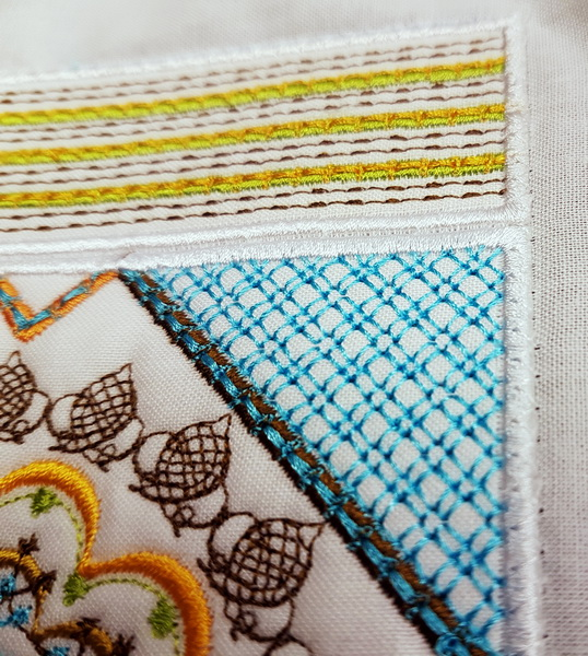 Sorbet Shades Machine Embroidery Designs by Cathy Park. Sorbet Shades machine embroidery design instructions.
