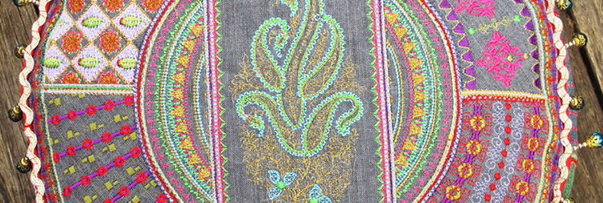 Feast of Colour Machine Embroidery Designs by Stitchingart