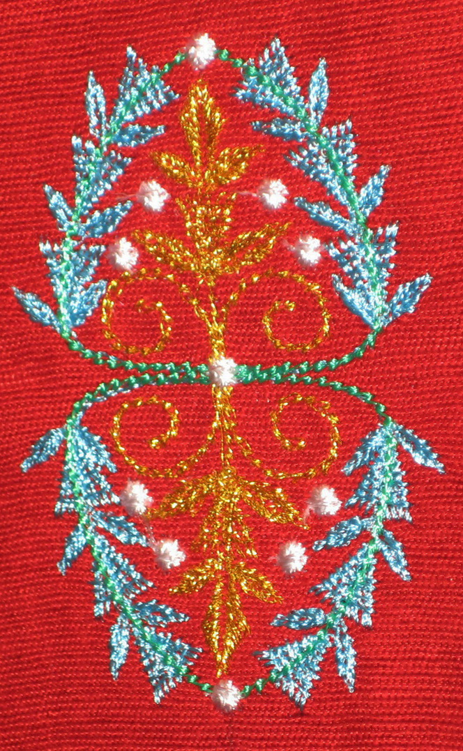 add a touch machine embroidery design