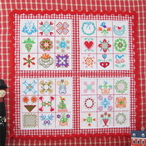 Miniature Baltimore Quilts Machine Embroidery Design Instructions