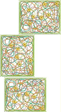 Colour Burst Machine Embroidery Designs