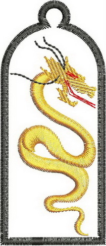 Manchu Robes Machine Embroidery Designs
