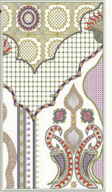 Saffron Machine Embroidery Designs