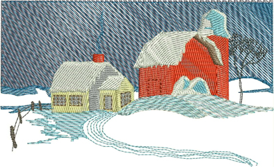Winter Wonderland Machine Embroidery Designs