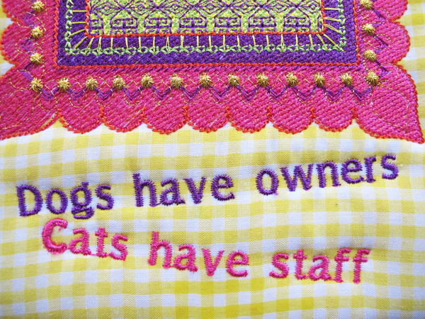 Cats Machine Embroidery Design