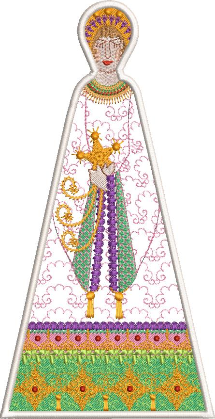Christmas 2018 machine embroidery designs. Christmas angel.