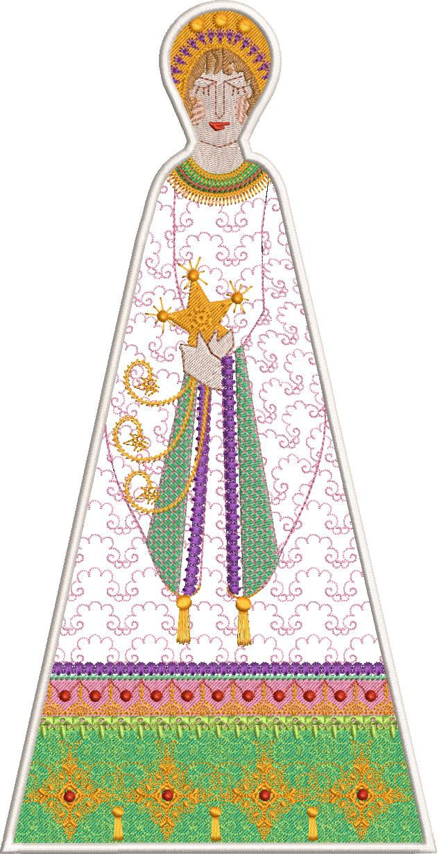 Christmas 2018 machine embroidery designs. Christmas ornament.