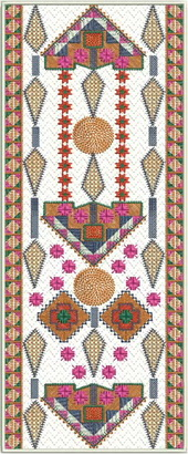 Elegant Wall hanging embroidery designs