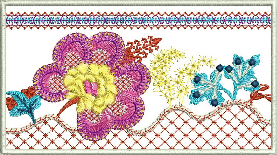 Down to Earth Machine Embroidery Designs
