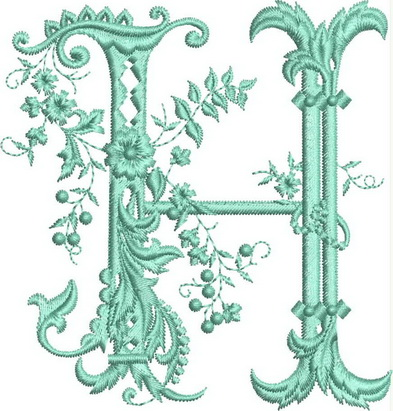 Monograms Machine Embroidery Designs. Letter G