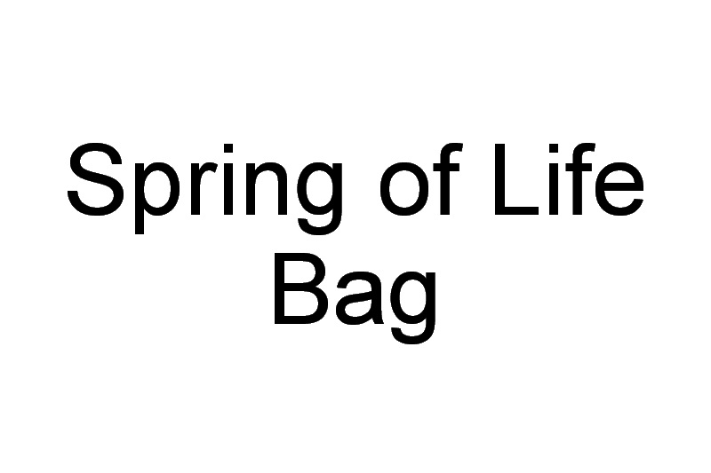 Spring of Life Machine Embroidery Design Bag