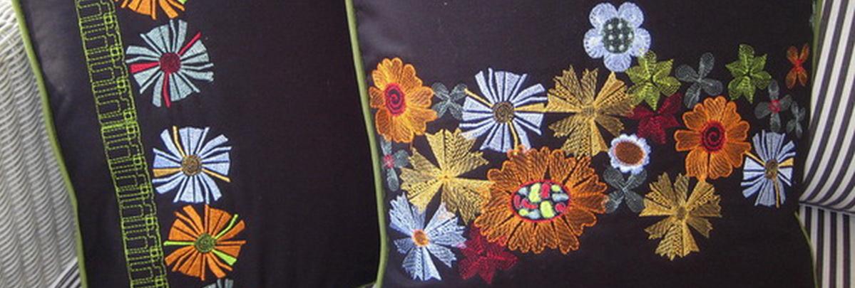 Retro Machine Embroidery Designs by Stitchingart