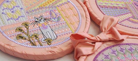 Crazy Patch No 3 Machine Embroidery Designs by Stitchingart