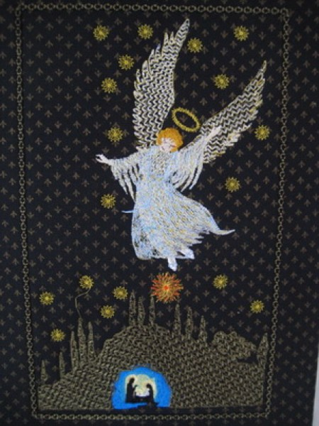 Stitchingart - Machine Embroidery Designs. Angel Machine Embroidery Design Sets