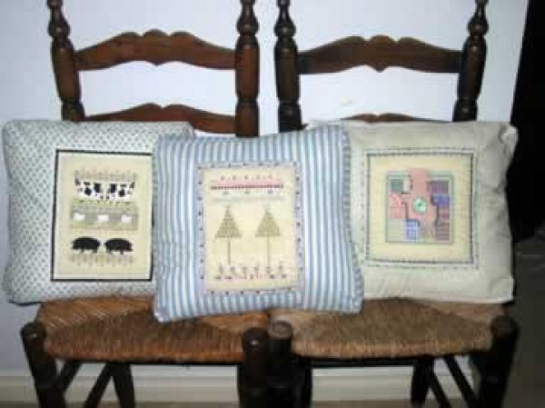 2 Tree Farm Machine Embroidery Designs by StitchingArt