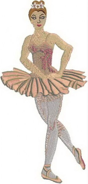 Ballet Machine Embroidery Designs by StitchingArt