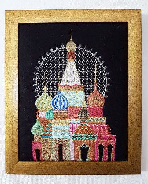 Russian Rhapsody Machine Embroidery Designs by Stitchingart