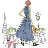 An American In Paris Machine Embroidery Designs