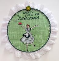 Delicious Machine Embroidery Designs