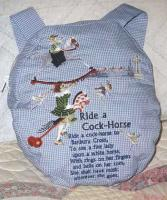 Ride a Cock Horse Machine Embroidery Designs